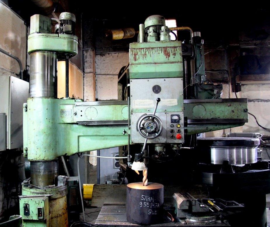 обработка металла сверлением