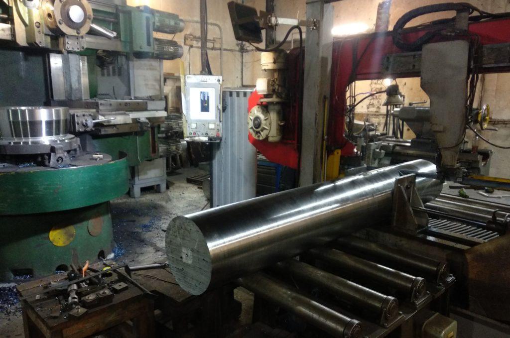 Заготовка ролика для токарной обработки на ДИП 500.