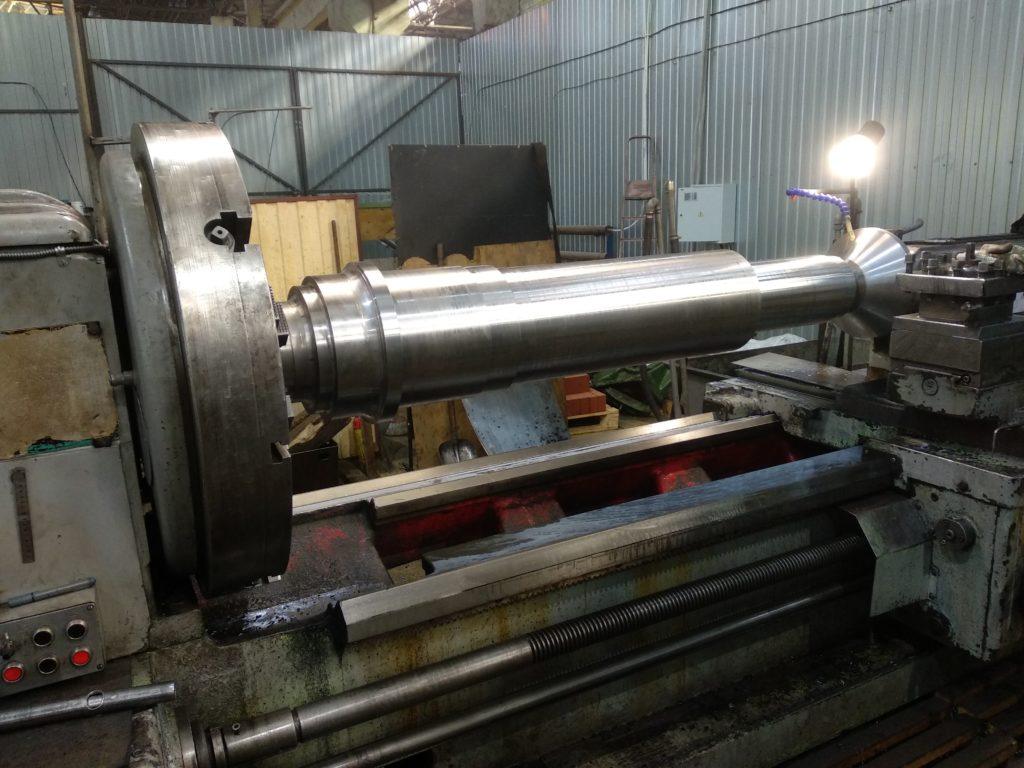 Изготовление валов на токарном станке ДИП 500.